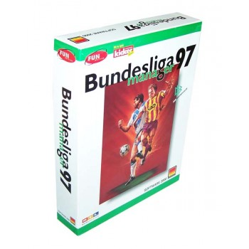 Bundesliga Manager 97 - PC - Frontcover