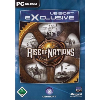 Rise of Nations (Ubisoft Exclusive) -PC - Frontcover