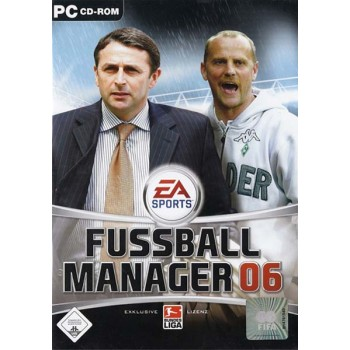 Fussball Manager 06 - PC - Frontcover