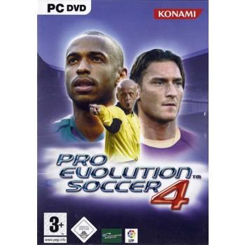 Pro Evolution Soccer 4 - PC - Frontcover