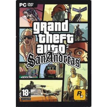 Grand Theft Auto - San Andreas - PC - Cover