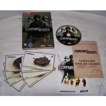 Company of Heroes - Steelbook Limited Edition - PC - Inhalt