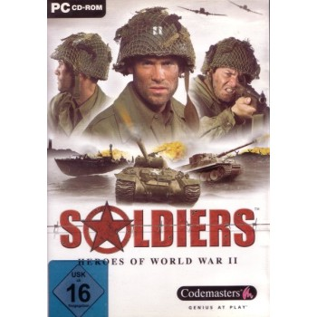 Soldier - Heroes of World War II - PC - Frontcover