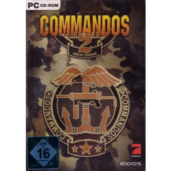 Commandos 2 - Men of Courage - PC - FrontCover