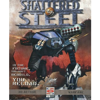 Shattered Steel - PC - Frontcover