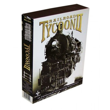 Railroad Tycoon II - PC - Frontcover
