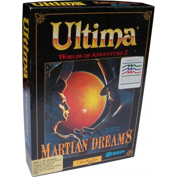 Ultima - Martian Dreams - PC - Frontcover