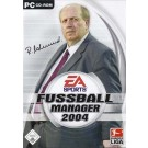 Fussball Manager 2004 - PC - Frontcover