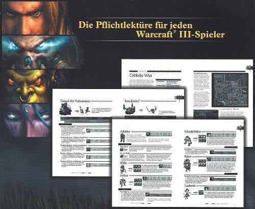 Warcraft 3 - offizielles Lösungsbuch