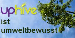 uphive ist umweltbewusst